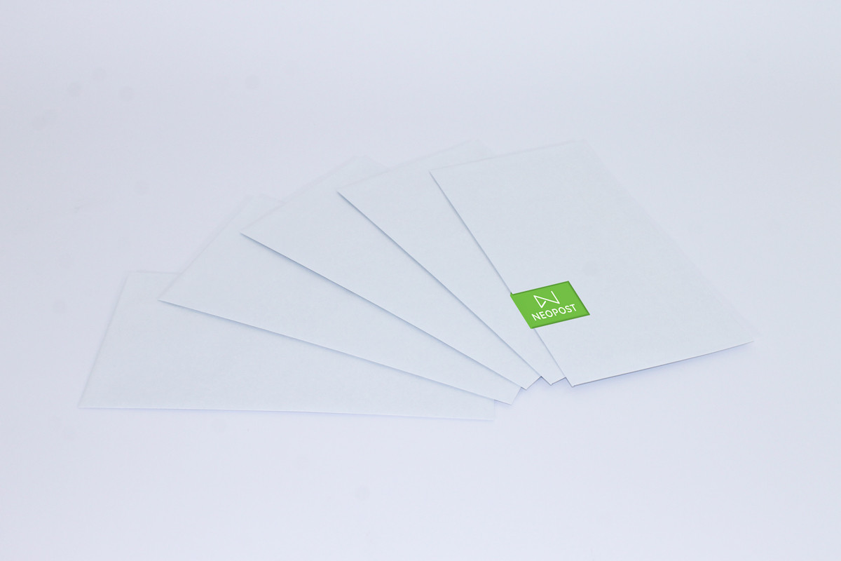 Neopost Envelopes  110 x 220 Press Seal/Plain Secretive (DL)