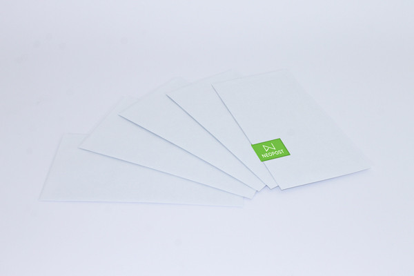 Neopost Envelopes 120 x 235 LicknStick/Plain-Secretive (DLX) - 500 per box