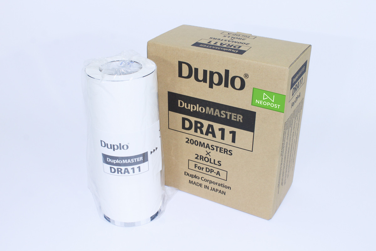Duplo  Duprinter Duplo Master Dra11 For Dp-A100 A4 220/Roll