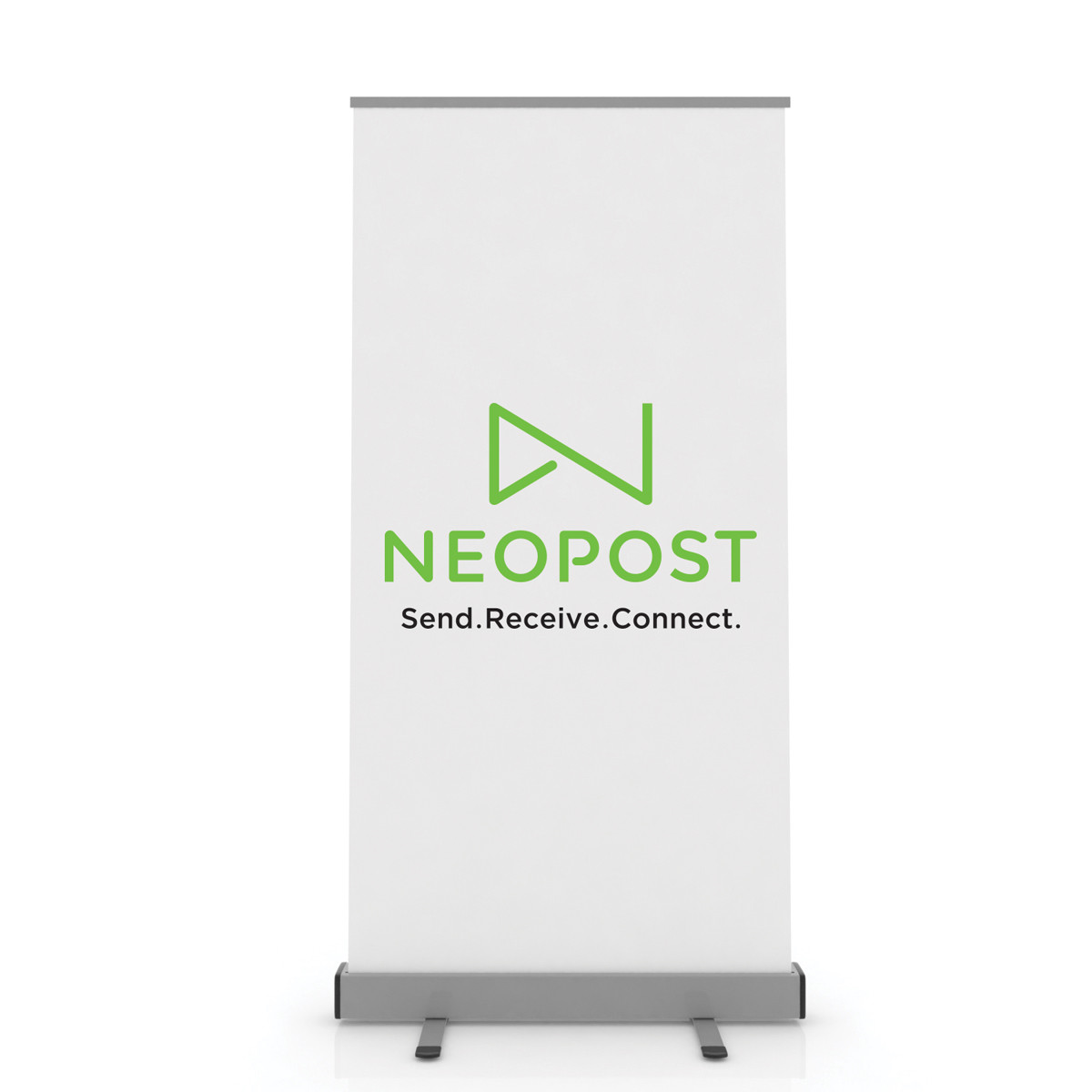 DISPLAY ROLLUP SILVER 1000X2M