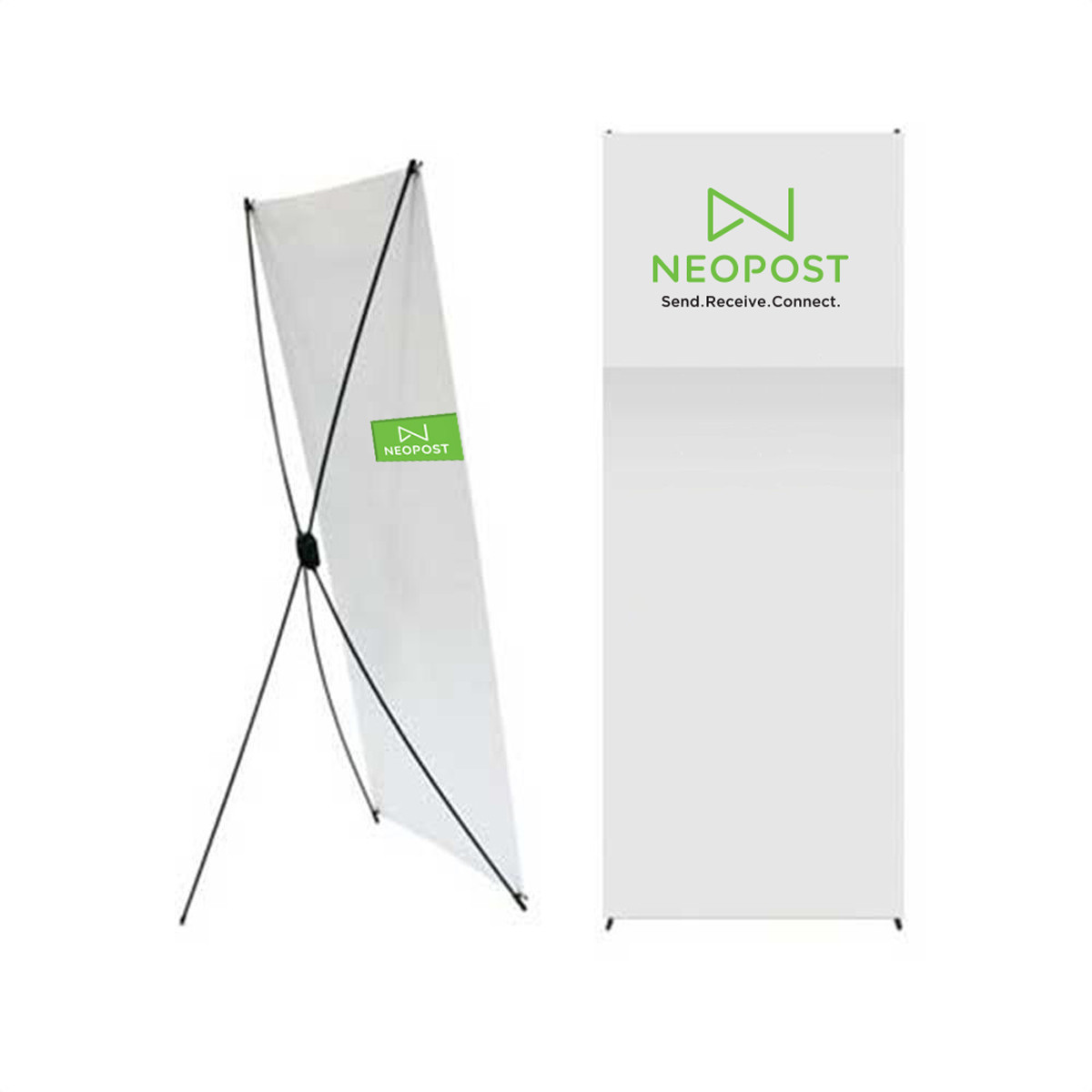 Xbanner 800mm X 1800mm With Paper Tube Quadient Online
