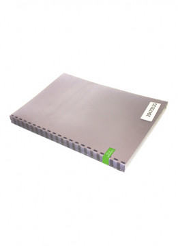 Quadient A4 FLUSHCUT FROSTED STANDARD BINDING COVERS - 200 MICRON - 21 RING - PRE PUNCH