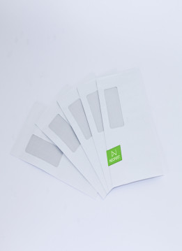 Neopost Envelopes 120 x 235 LicknStick/Std Window-Secretive (DLX)