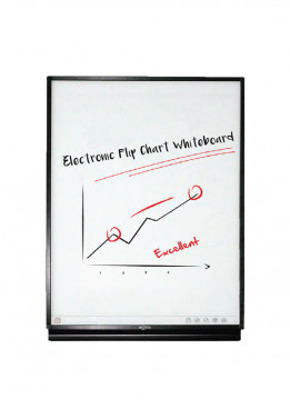 "Quadient DIGITAL FLIPCHART 46"" WITH STAND"