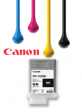 CANON PFI-102 MATTE BLACK WIDE FORMAT INK