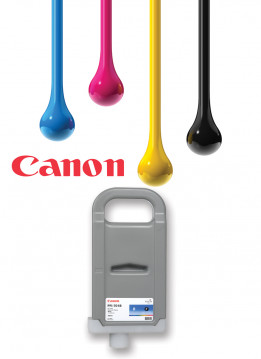 CANON PFI-702 BLACK WIDE FORMAT INK 700ML