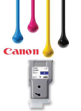 CANON PFI-206 300ML BLUE WIDE FORMAT INK